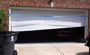 Ordinaire Accidents Happen. We Repair And Replace Garage Doors